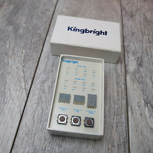 Kingbright Led Display Box Smd 35 c Aphm 1608 Aphcm 2012 B01 Apda02 110 Mxpb