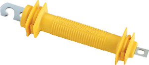 25 Ea Dare 1247 Rubbergate Yellow Synthetic Rubber Electric Fence Gate Handles