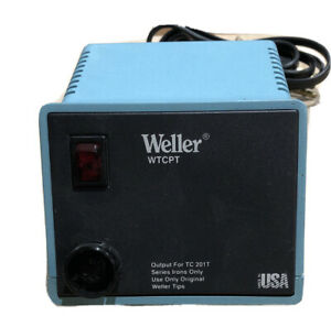 Weller Power Unit Wtcpt Temp Controlled Soldering Station Only Tested Working
