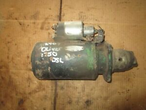 Delco Remy Starter For Oliver 1750 Diesel Others