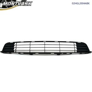 Front Lower Bumper Grille For 2009 2010 Toyota Corolla 4 door Textured Black