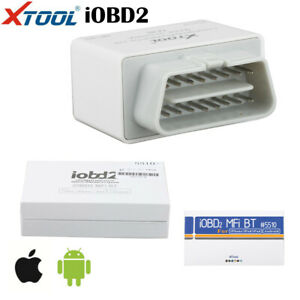 Xtool Iobd2 Bluetooth Obd2 Eobd Auto Scanner Diagnostic For Iphone android