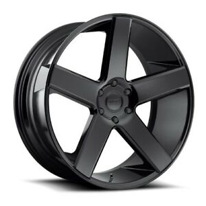 28x10 S216 Dub Baller Gloss Black Wheels 5x115 13mm Set Of 4