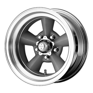 15x8 5 American Racing Vn309 Vintage Silver Wheels 5x5 24mm Set Of 4