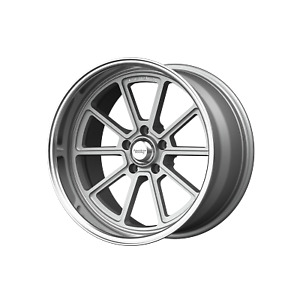18x10 American Racing Vn510 Vintage Silver Wheels 5x120 65 12mm Set Of 4