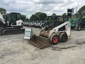 2007 Bobcat S130 Skid Steer Loader W Kubota Diesel Engine Cheap