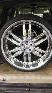 Giovanni Vehicle Rims 255 30zr 24 Inches Four In Total No Shipping Available
