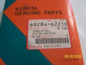 Kubota Hydraulic Suction Filter 69284 62210 rd411 62210 Kx121 2s Kx161 2s