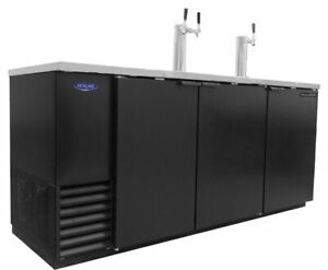 Nor lake Nldd 79 30 8cuft Four Keg Refrigerated Direct Draw Beer Cooler