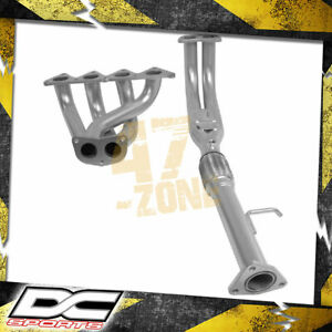 Dc Sports 4 2 1 Ceramic Header Two Piece For 1992 1996 Honda Prelude Si 2 3 Carb