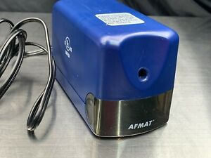Afmat Electric Pencil Sharpener Heavy Duty Classroom 6 5 8mm No 2 colored Ul