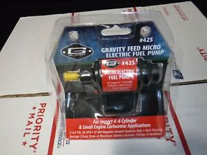 Mr Gasket Gravity Feed Micro 42s Electric Fuel Pump Brand New