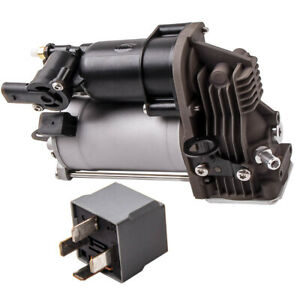 Air Suspension Compressor Pump W Relay For Mercedes Gl Ml Class 1643200304