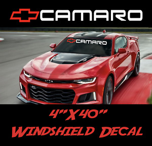Camaro Z28 Chevrolet Windshield Sticker Logo Vinyl Decal American Muscle Banner