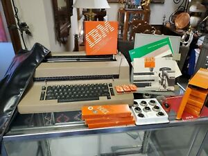 Vintage Ibm Selectric 2 Typewriter And Accessories Working