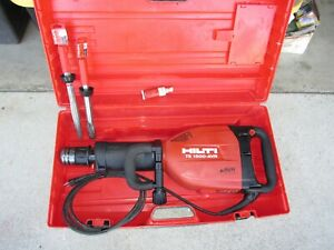 Hilti Te1500 avr Demolition Hammer Package W 2 Bits Combo Kit 860