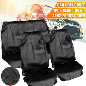 Universal Car Front Rear Seat Cover Vehicle Seat Protector Set Waterproof Cover