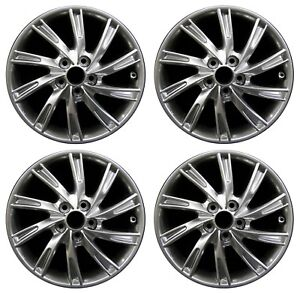 17 Toyota Camry 2011 2012 2013 2014 Factory Oem Rim Wheel 75206 Full Set
