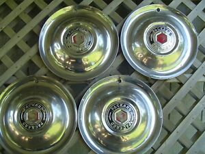 1951 1952 Packard Phaeton Club Sedan Roadster Dietrich Hubcaps Wheel Covers