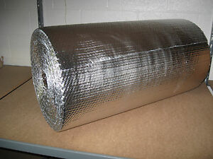 3 16 Double Foil Bubble Insulation Reflective Wrap 24 X 125