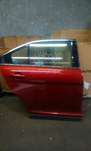 10 18 Ford Taurus Right Passenger Rear Side Door Electric Tinted