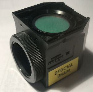 Nikon Microscope Fluorescence Cube For Eclipse 91020 Emitter Dichroic