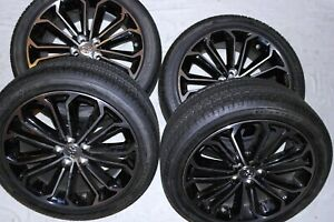 New Oem Toyota Sport Edition Alloy Wheels With P215 45r12 Tire Set 4 Pc