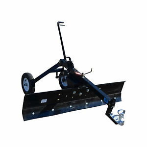 Atv Transformer Tow Frame With Grader Blade Attachment 6