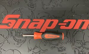 Snap On Tools Sgt4b Instinct Grip 1 4 Socket Driver Handle Orange Usa New