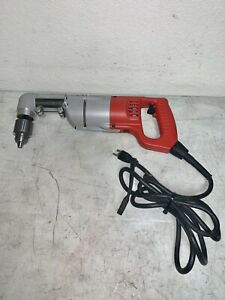 Milwaukee 1107 1 Heavy Duty Corded 1 2 Right Angle Drill Driver Tool