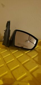 2013 16 Ford Escape Right Passenger Side Mirror Silver Oem