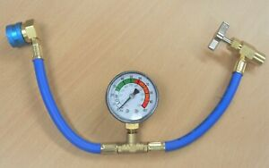 Self Sealing R1234yf A C Can Tap Gauge Hose Recharge Refrigerant Ac Conditioning