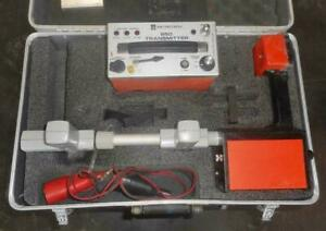 Metrotech 850 Pipe Cable Utility Line Locator W Case