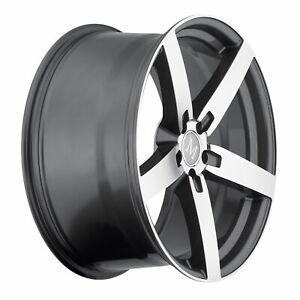 4 New 20x8 5 Mandrus Arrow Gunmetal Wheel Rim 5x112 5 112 20 8 5 Et35