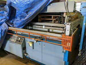 Silk Screen Printing Press M r Take Off System Vitran Unit 52x120 Squeegees