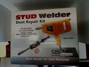New Id Factory Box Chicago Electric Welding 03223 Stud Welder Dent Repair Kit