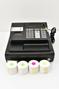 Casio Pcr 272 Electronic Cash Register With Manual Keys used