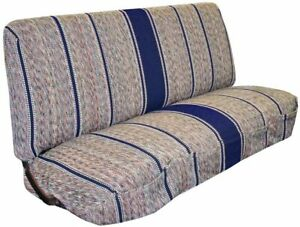 New Saddle Blanket Truck Bench Seat Cover Fits Chevrolet Dodge Ford Trucks Blue