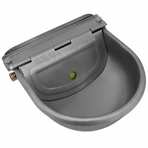 Yutiny Horse Cattle Drinker Stainless Steel Water Bowl Trough Bowl