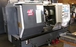 2017 Haas St20ssy Cnc Lathe With Live Tooling And A Y Axis