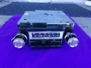 1977 Chevrolet Buick Pontiac Nice Clean Working Original Am Fm Stereo Radio