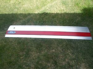 1987 96 Oem Ford Bronco Factory Tailgate Trim Panel
