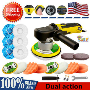 6 Dual Action Da Polisher Auto Car Buffer Sander Diy Polishing Machine Wax Kit