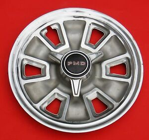 1967 Pontiac Tempestspinner Wheel Cover Decent Daily Driver