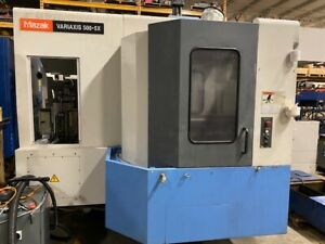parts Machine Mazak Variaxis 500 5x Cnc Machining Center
