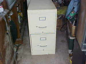 Professional Quality File Cabinet 2 Drawer no Shipping Local Pick up Only