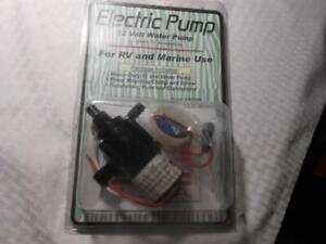 Zebra 12 Volt Electric Water Pump For Rv And Marine Use New