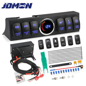 Rocker Switches Panel Pod And Control Box Wiring Harness Kit For Jeep Wrangler