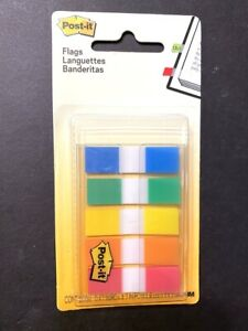 Post it Flags Page Marker Portable Dispenser 5 Colors 1 2 Wide 100 Flags Tabs