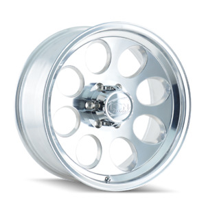 16x10 Ion 171 Polished Wheels 5x135 38mm Set Of 4